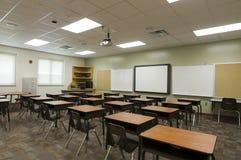 Salle de classe à l'école primaire Photo stock