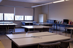 Salle de classe Photographie stock