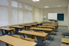Salle de classe Photo stock