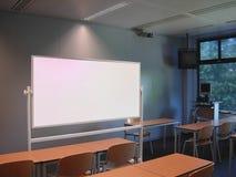 Salle de classe d'étude Photo stock