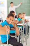 Salle de classe d'école primaire Photos libres de droits