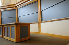 Salle de classe d'université Images stock