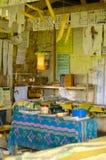 Salle de classe dans le village du Vanuatu images libres de droits