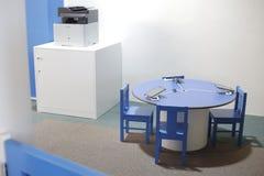 Salle de classe de service informatique d'enfants Photos libres de droits
