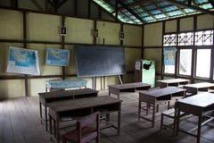 Salle de classe Indonésie Images libres de droits
