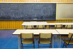Salle de classe vide Image libre de droits