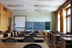 Salle de classe vide Images stock
