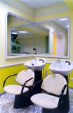 Salle de coiffure Photo stock