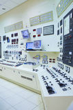 Salle de commande de centrale électrique Photographie stock libre de droits