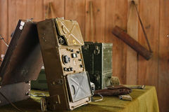 Salle de commande par radio militaire (3) Photographie stock