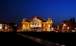 Salle de concert à Amsterdam Photographie stock libre de droits