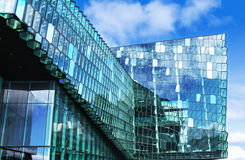 Salle de concert à reykjavik Photo stock