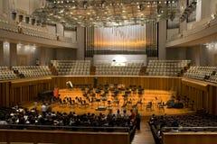 Salle de concert Photos libres de droits