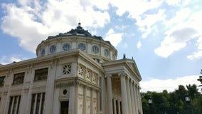 Salle de concert Athenaeum de Bucarest Photo libre de droits
