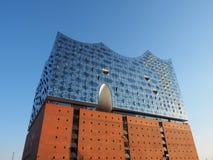 Salle de concert d'Elbphilharmonie à Hambourg Images libres de droits