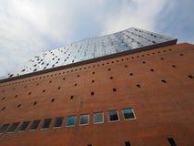 Salle de concert d'Elbphilharmonie à Hambourg Photographie stock libre de droits