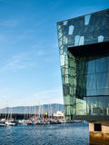 Salle de concert de Reykjavik d'†de Harpa «et Centre de conférences images libres de droits