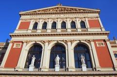 Salle de concert de Vienne images stock