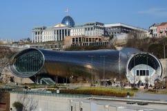 Salle de concert et résidence principale de président géorgien, Tbilisi Photographie stock