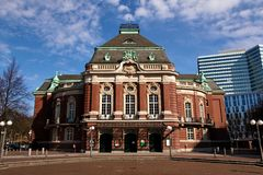 Salle de concert Hambourg, Allemagne Laeiszhalle photographie stock
