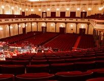 Salle de concert intérieur, Amsterdam Images libres de droits
