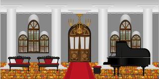 Salle de concert illustration de vecteur