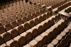 Salle de concert vide Photo stock
