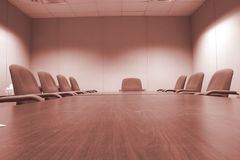 Salle de conférence Colorized Images stock