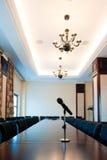 Salle de conférence dans un hôtel moderne Photographie stock