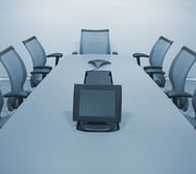 Salle de conférence de corporation illustration de vecteur