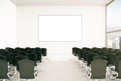 Salle de conférence moderne Photographie stock libre de droits