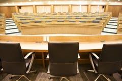Salle de conférence vide Photographie stock libre de droits
