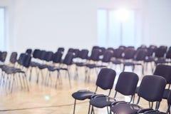 Salle de conférences vide Photographie stock libre de droits