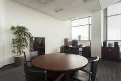 Salle de conférences vide Image stock