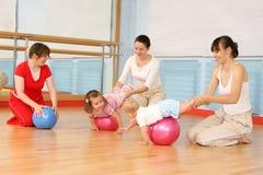 Salle de gymnastique Photographie stock libre de droits