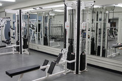 Salle de musculation photo stock