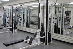 Salle de musculation Photo stock