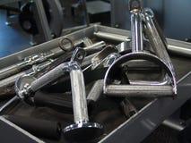 Salle de musculation photographie stock