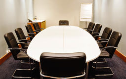 Salle de réunion  image libre de droits