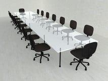 Salle de réunion concrète Photographie stock
