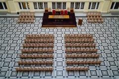 Salle de réunion d'université Images libres de droits