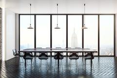 salle de réunion intérieure lumineuse Image stock