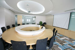 Salle de réunion moderne Photos stock