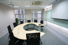 Salle de réunion moderne photographie stock libre de droits