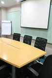 Salle de réunion moderne images libres de droits