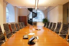 Salle de réunion Photos stock