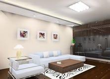 Salle de séjour illustration de vecteur