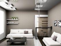 Salle de séjour Photo stock