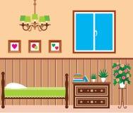 Salle de séjour Image libre de droits