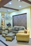 Salle de séjour confortable photo libre de droits